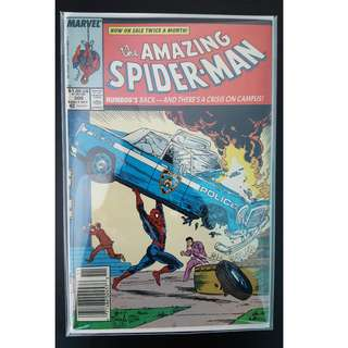 Amazing Spider-Man #306 (1988, 1st Series) Todd McFarlane's Awesomeness! Homage Cover tribute to Superman, Action Comics #1! ICONIC!