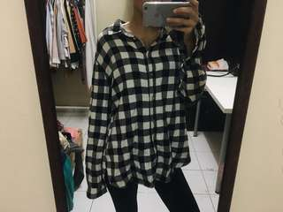 H&M Oversized Flannel