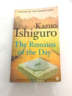Kazuo Ishiguro TROTD English Literature