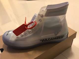 OffWhite X Converse US10 off white