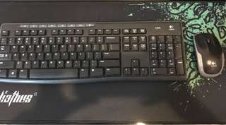 Logitech Wireless Keyboard and Mouse Combo