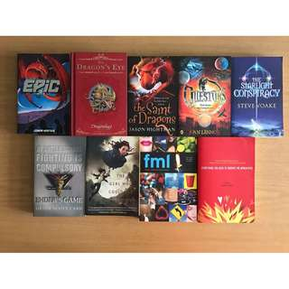 Young Adult Fiction Books