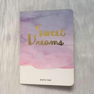 BN Sweet Dreams Notebook