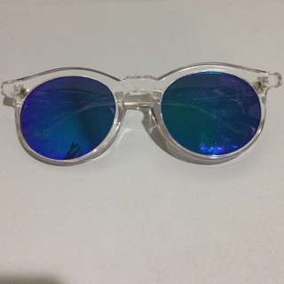 Clear Reflective Sunglasses #20Under