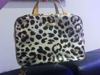 Victoria Secret Cheetah Print Travel Bag