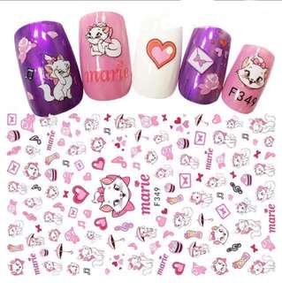 Nail Sticker- Marie the Cat