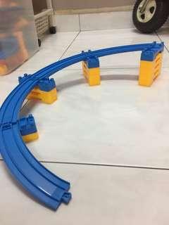 Tomica duplicate train track