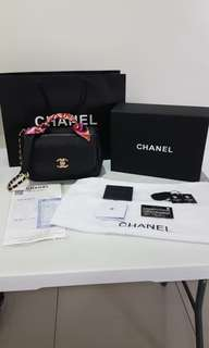 Chanel Business Affinity Flap Bag with Top Handle