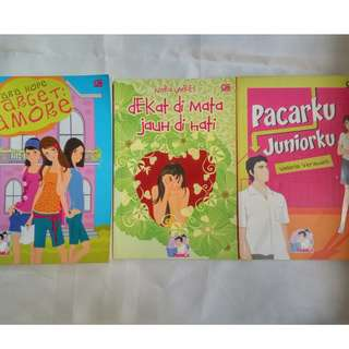 Novel Teenlit Indonesia