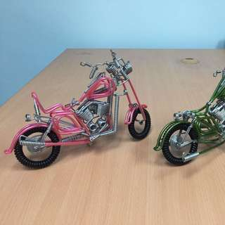 Wire Wound Decorative Bicycles