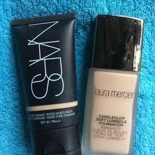 Auth. Nars and laura mercier