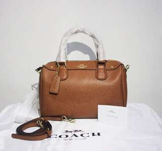 Coach mini benneth brown (Authentic)