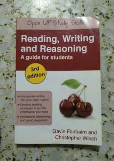 Reading,  Writing and Reasoning (A guide for students)