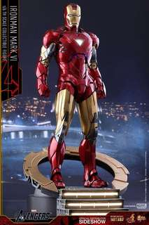 Hot Toys Ironman Iron Man Mark VI 6 Diecast