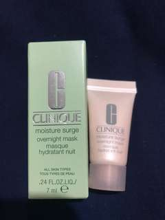 Clinique overnight mask