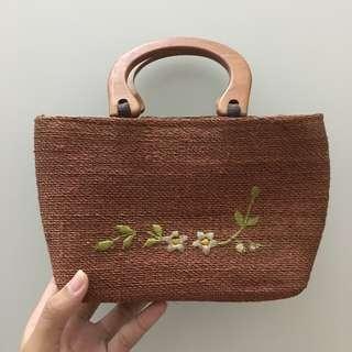 Mini Brown Hand Bag