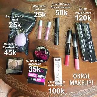 Makeup Preloved OBRAL Diskon!
