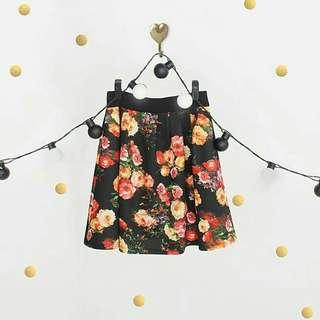 Elegant Floral Skirt