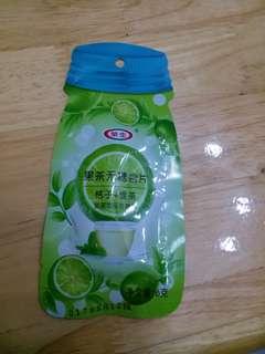 🎁桔子綠色喉糖 *免費贈送