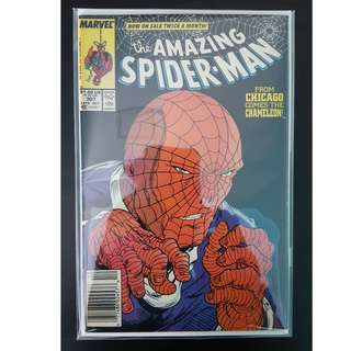 Amazing Spider-Man #307 (1988, 1st Series) Todd McFarlane's Awesomeness! Vs The Chameleon!