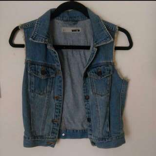 Denim Vest // Denim Moto Jacket