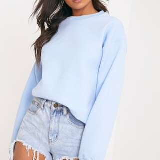 Pretty Little Things Oversized Crewneck Sweater
