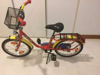PUKY bicycle for up to 7/8 year old children