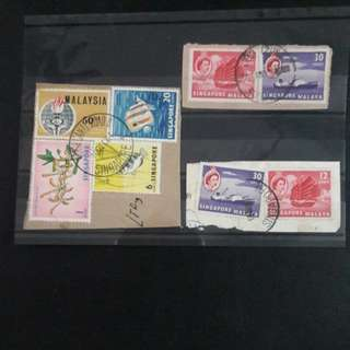 1 lot of Singapore  stamps