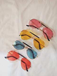 Aviator Colored Sunnies