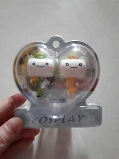 Doctor n Nurse couple key chain