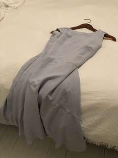 REISS Powder Blue Dress