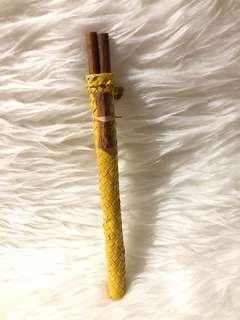 Wood chopstick