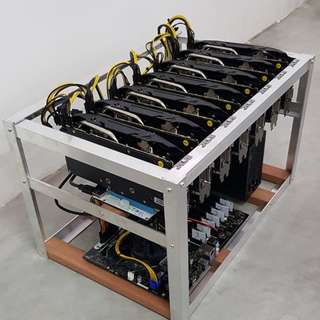 Mining Rig for sale (7 GPU AMD Radeon RX570)