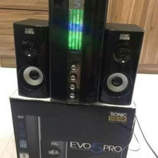 Speaker -Sonic Gear Evo 5 Pro-