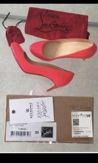 Louboutin Pink Heels sz 39