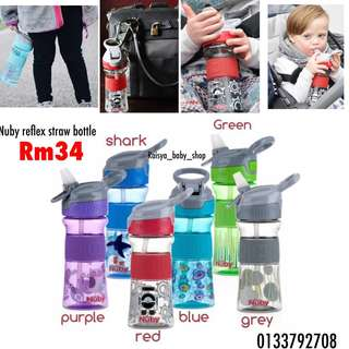 Nuby reflex straw bottle
