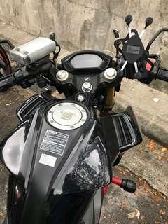 MWUPP X Grip Handphone Holder Mount Mobile Phone Holder Mount Honda CB190