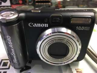 Used canon a640 PowerShot