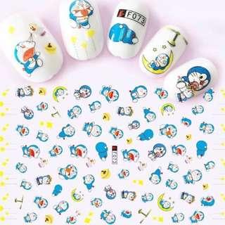 Nail Sticker - Doraemon