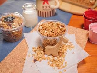 🚚 「麦䅘」-純手工製作早餐脆穀片 純楓糖烤燕麥 130g
