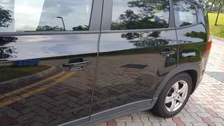 Door edge guard (non adhesive) with installation.