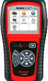 New Autel AL519 AutoLink Enhanced OBD ll Scan Tool with Mode 6 Fault Code Reader EOBD