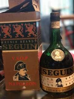 French brandy SEGUIN V.S.O.P Napolean