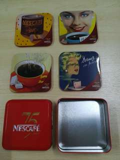 Nescafe 75 years coasters