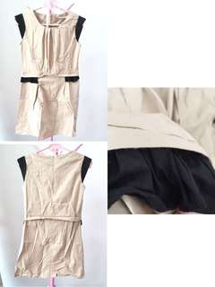 Dress khaki good quality