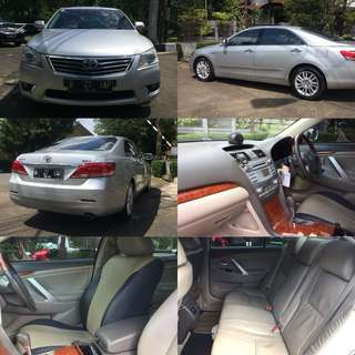 Jual Mobil 2nd Toyota Camry 2.4 V Silver (2010)