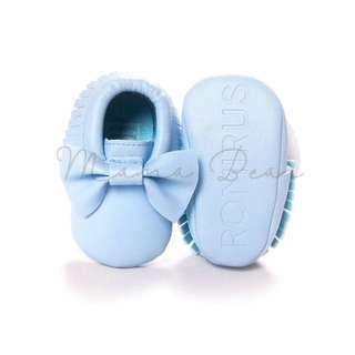 Mamabear ribbon tassle shoes