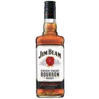 Jim Beam Kentucky Straight Bourbon Whiskey 金賓白波本威士忌 - 1L