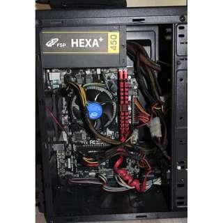 System Unit (CPU) Intel G3240 3.1Ghz 500GB 4GB  Gigabyte H81 4th Generation