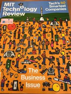 MIT Technology Review - The Business Issue (includes Tech's 50 Smartest Companies)